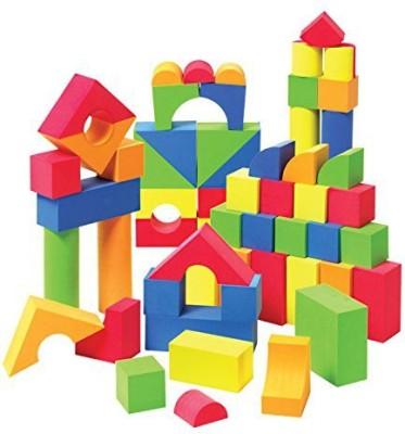 Liberty Imports Creative Educational EVA Jumbo Foam Building Blocks - 131 Pcs