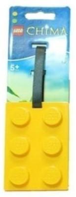 Lego Chima Brick Shape Luggage Tag Id Tag (Colors Vary)