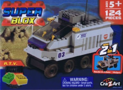 Unknown Super Blox Special Forces Atv 124 Pieces