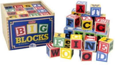 Schylling Large ABC Wood Blocks