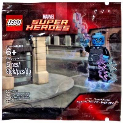 Lego Marvel Super Heroesthe Amazing Spiderman 2 Movieelectro