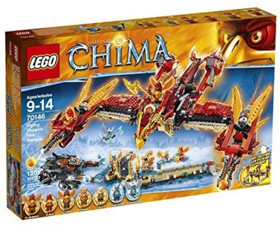 LEGO Chima 70146 Flying Phoenix Fire Temple Building