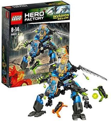 Lego Hero Factory Surge & Rocka Combat Machine 44028