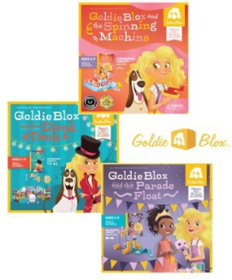 GoldieBlox Spinning Machineparade Float And Dunk Tank Building Sets