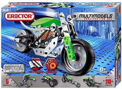 Meccano Erector - Multimodel - 5 Model Set