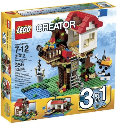 Lego Lego Creator Treehouse Toy Interlocking Building Sets