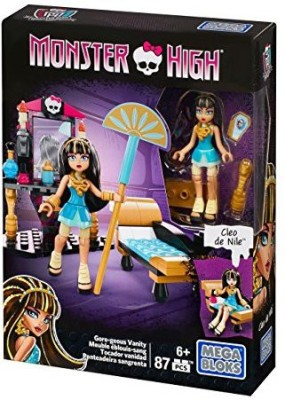 Mega Bloks Monster High Cleo,S Goregeous Vanity Playset
