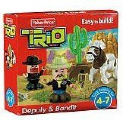 Fisher-Price Trio Deputy & Bandit