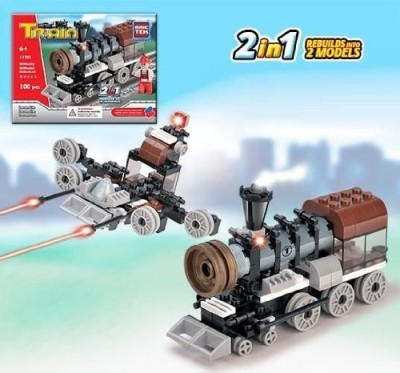 BRICTEK BUILDING BLOCKS Train Series 2 In 1 Building Set Brictek (11701)