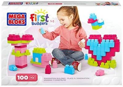 5Star-TD Mega Bloks First Builders Imagination Building Pink