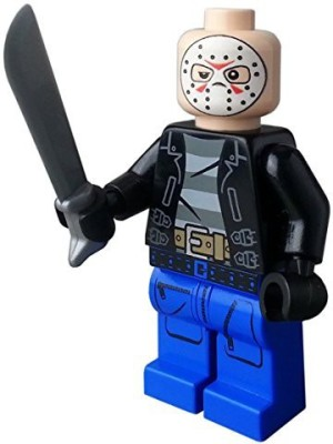Custom Bricks Jason Voorhees Friday The 13Th Custom Printed