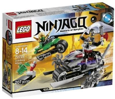 Lego Lego Ninjago Overborg Attack Toy
