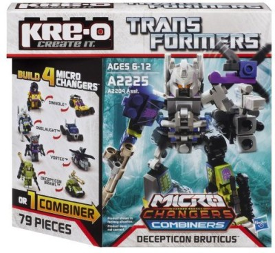 KRE-O transformers microchangers combiners decepticon bruticus