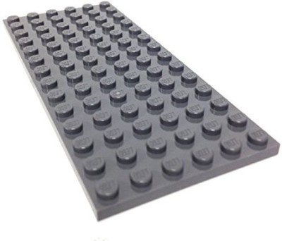 Lego Parts Plate 6 X 14 (Dbgray)