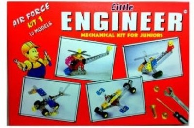 Giftoscope Little Engineer Air Force Mechanical Kit 1 for Juniors