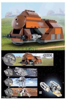 Lego Star Wars Mini Building Set 4491 Mtt Trade Federation