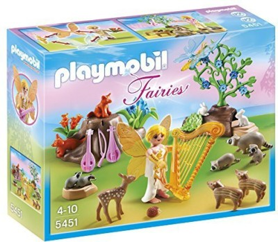 PLAYMOBIL Music Fairy With Woodland Creatures Playset