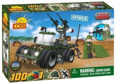 COBI Small Army Spider Vehicle100 Piece Set