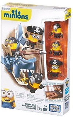 Mega Bloks Minions Shark Bait Pack(Multicolor)