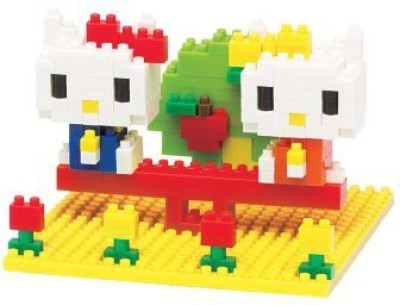 Nanoblock Hello Kitty And Mimmy In The Park