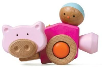 Smart Gear Click ,N Play Piggy Building Set