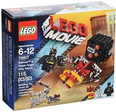 LEGO Movie Batman and Super Angry Kitty Attack Block(Multicolor)