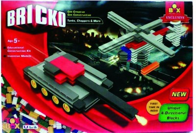Toysbox Bricko Tanks & Choppers
