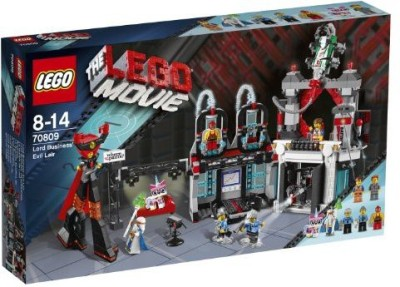 LEGO Movie 70809 Lord Business, Evil Lair(Multicolor)