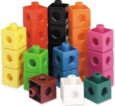 Surya Enterprises Surya 2 cm Interlocking cubes (set of 65 Pcs in 1 Color)