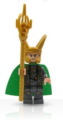 Lego Super Heroes Loki Mini With Scepter
