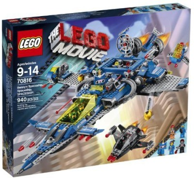 LEGO Movie 70816 Benny,S Spaceship, spaceship, spaceship Building Set(Multicolor)