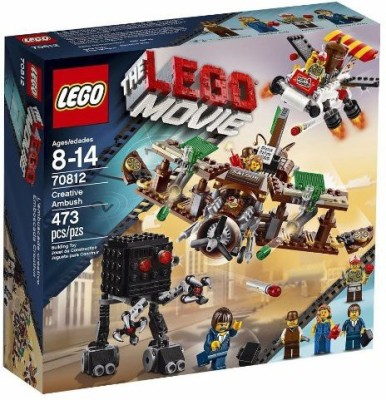 LEGO Movie 70812 Creative Ambush(Multicolor)