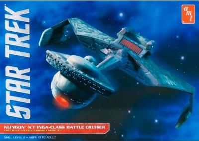 AMT USA 1/537 Scale Star Trek Klingon K,Tinga-Class Battel Cruiser Plastic Model Kit