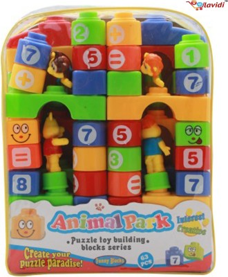 LAVIDI Learning Block Building series for Growing Kids