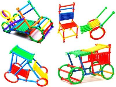 WebKreature Plastic Stick Figure Educational Puzzle