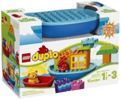 LEGO DUPLO Creative Play 10567 Toddler Build And Boat Fun