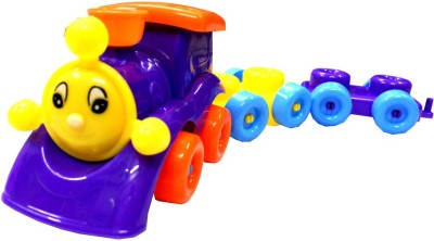 WebKreature Educational Train Block Set With 32 Pieces