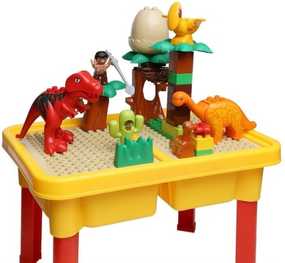 Building Mart Jurassic World Building Blocks Table