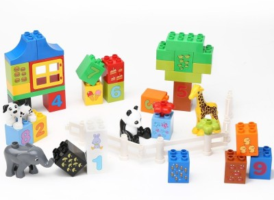 Building Mart Numerical Learning Building Block Set - 42 Pieces