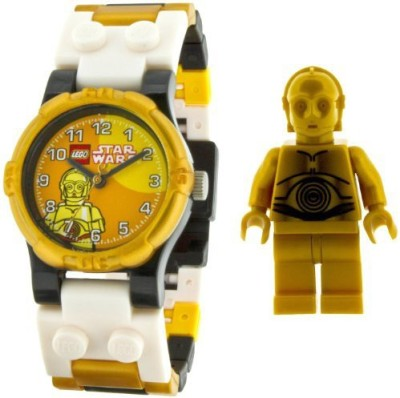 Schylling Lego Kids Star Wars C3Po Watch And Mini