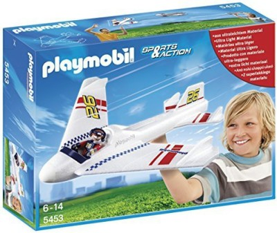 PLAYMOBIL Turbo Handlaunch Glider Playset