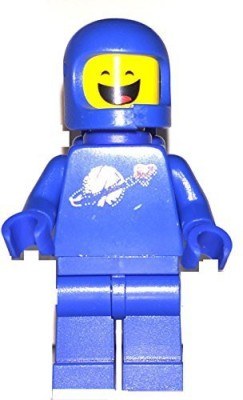 Lego The Movie Benny Mini With Dualsided Face From Set 70818(Blue)