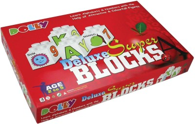 Dolly Super Blocks Educational Blocks Set