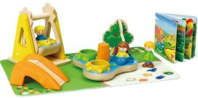 Hape Playground Friends Playset