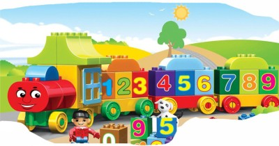 Kids Home Toys Number Train