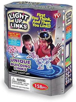 Hampton Direct Light Up Building Links Flash Glow Fun Model Craft