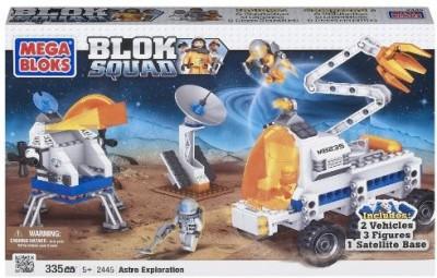 Mega Bloks Squad Space Astro Exploration