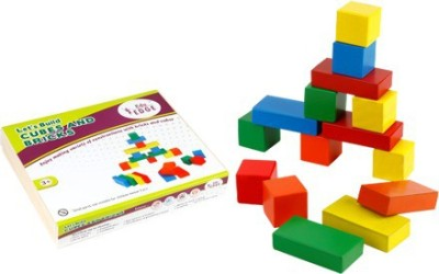 Eduedge Let,S Build - Cubes & Bricks
