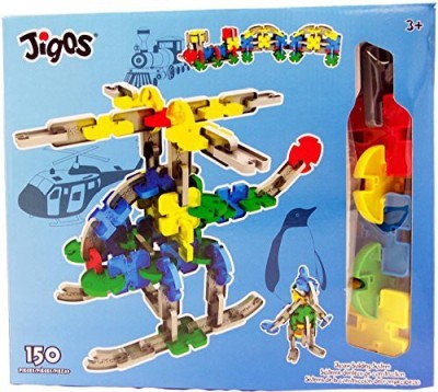 Dekko Toys Jigos 150 Piece Construction Building Set