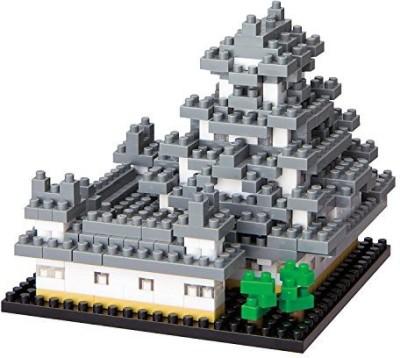 Kawada Nbh018 Nano Himeji Castle Building Kit